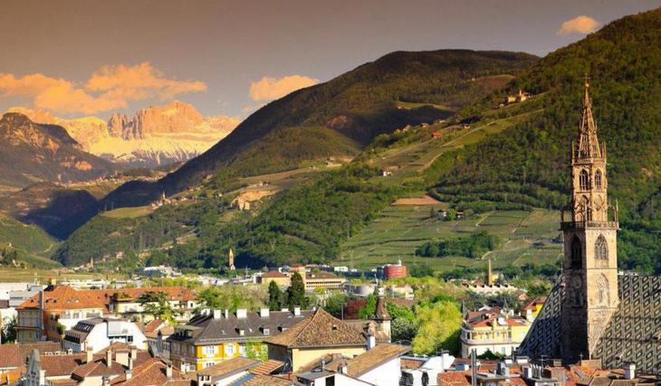 Город в Северной Италии