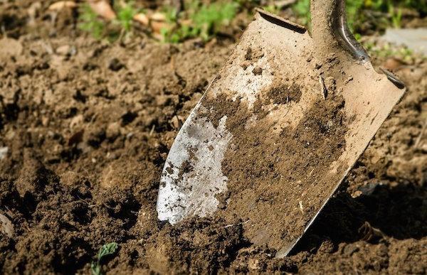 Что делать, чтобы на лопату не прилипала земля