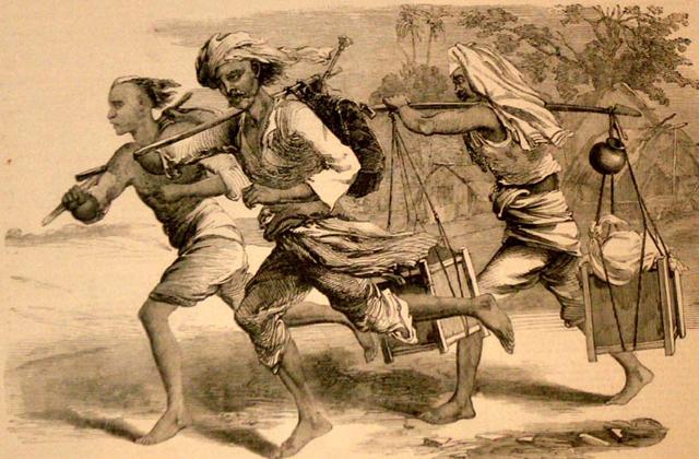 древняя индия почта