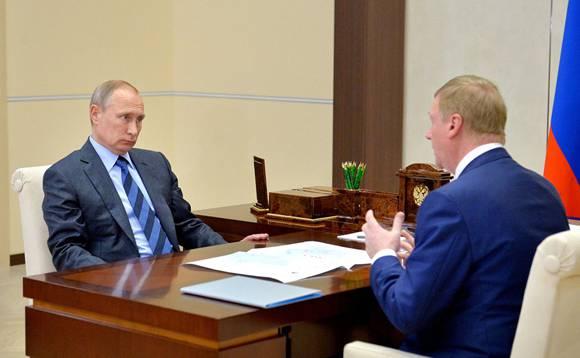 Тайна зелёных карандашей на столе у Путина