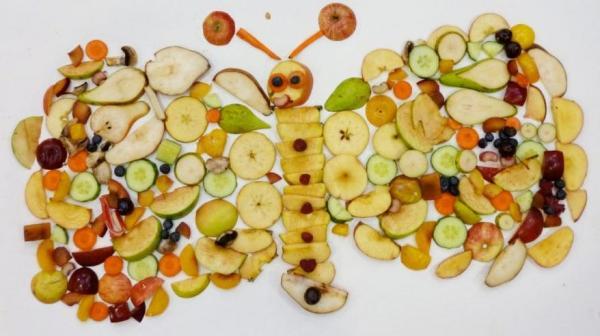 фруктовая бабочка