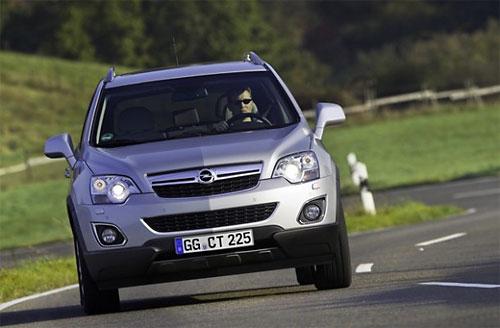 Opel создаст кроссовер на базе минивэна