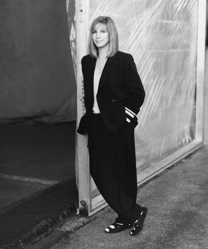 Барбра Стрейзанд в 1997 году.
