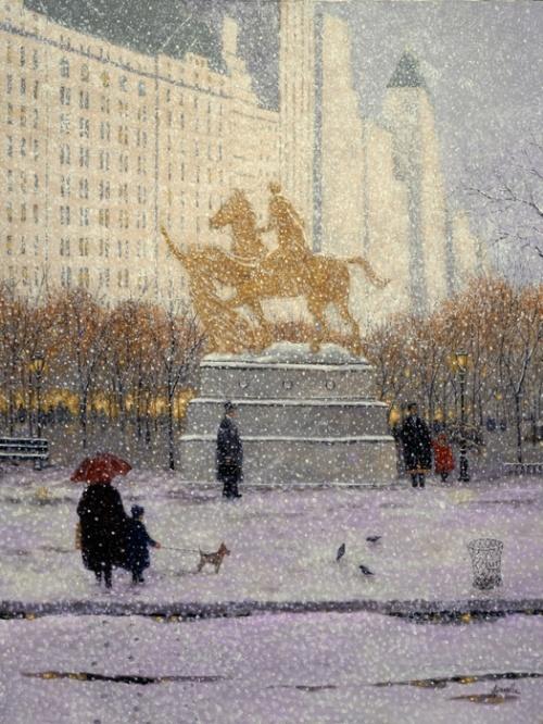 Милые пейзажи американского живописца-импрессиониста Патрика Антонелли (Patrick Antonelle)