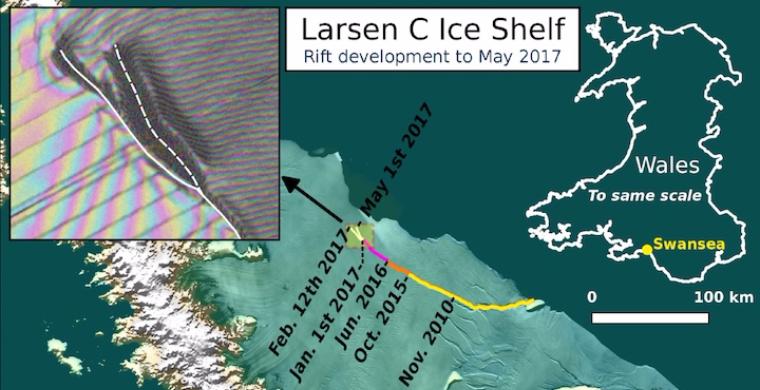 Ученые спрогнозировали появление самого большого в мире айсберга