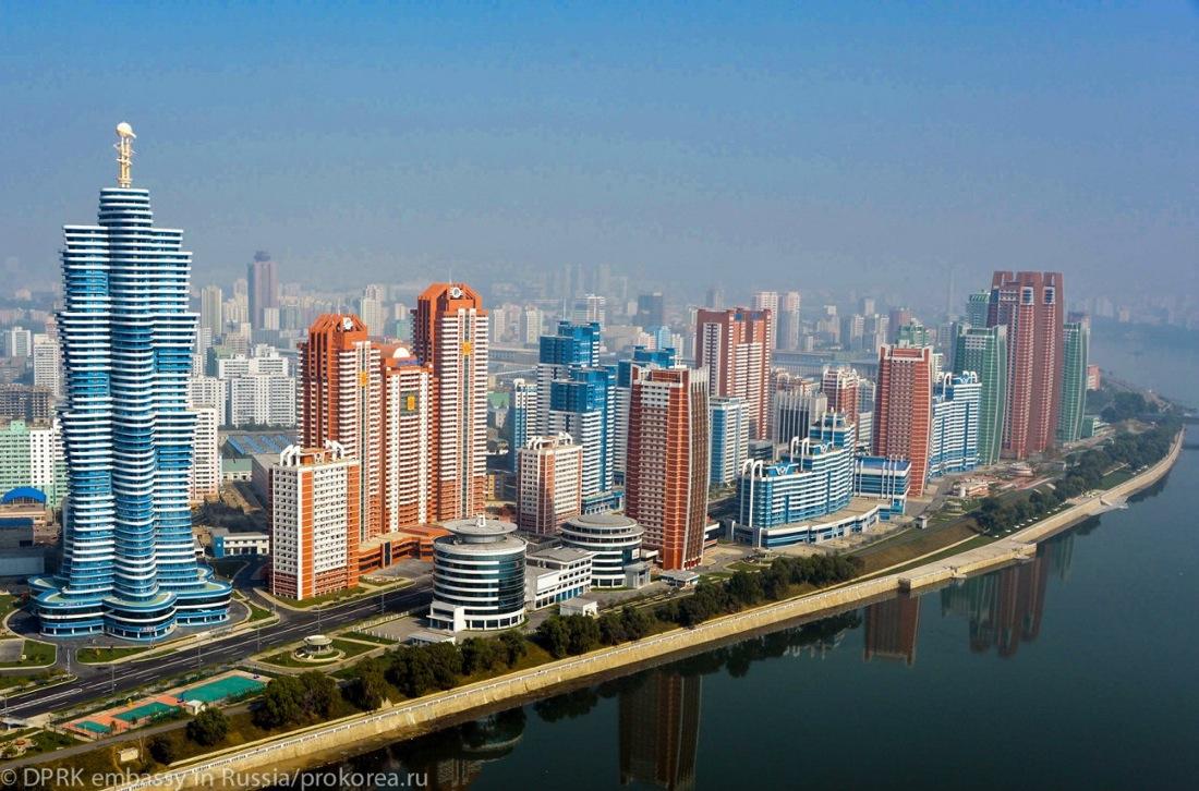 Район будущего в Пхеньяне: хотели бы так жить?