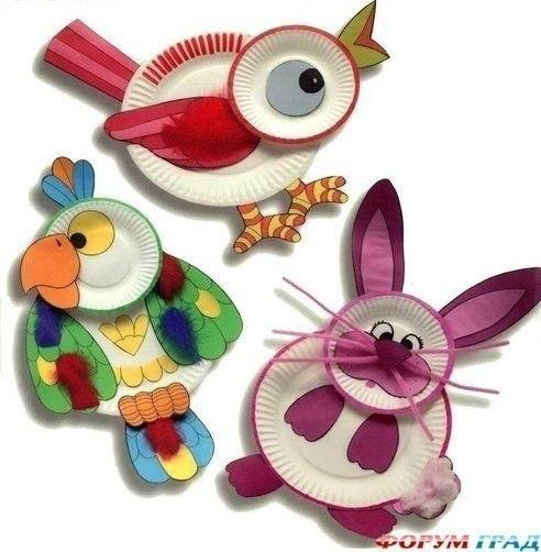 Животные из подручных материалов
