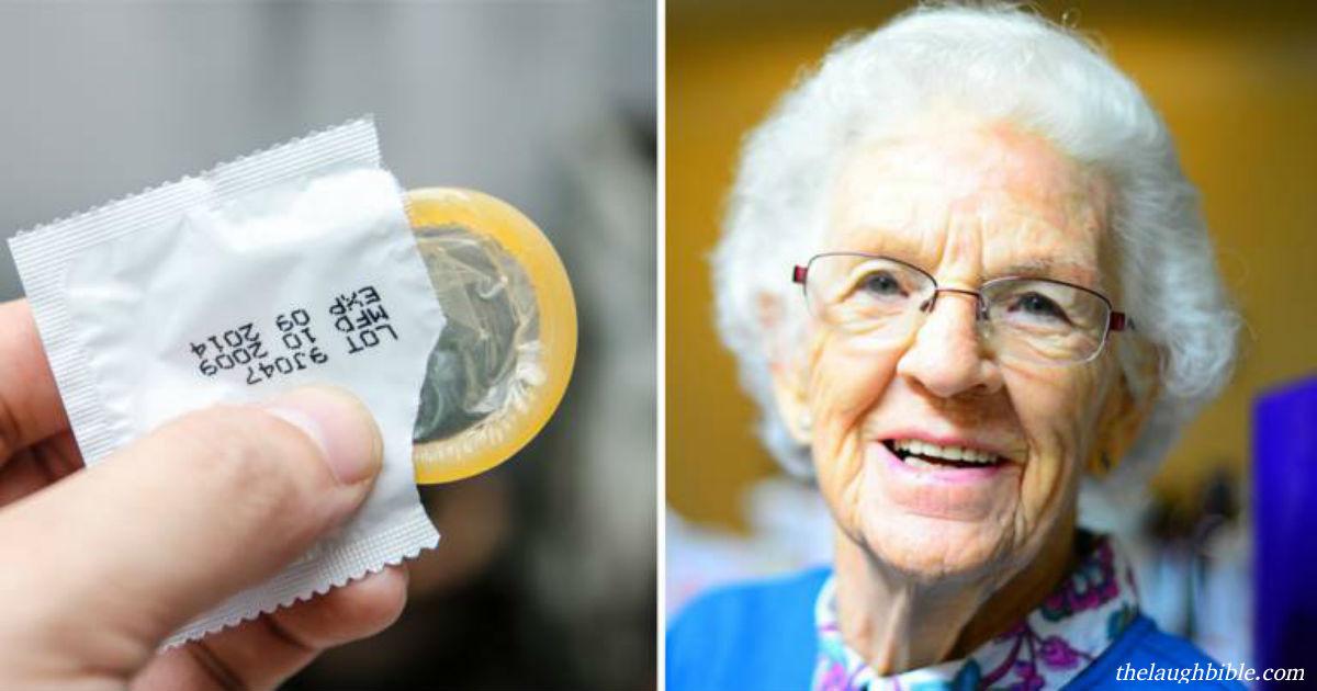 Бабуля зашла в аптеку за презервативами. У продавца челюсть отвисла, когда он услышал её ответ!
