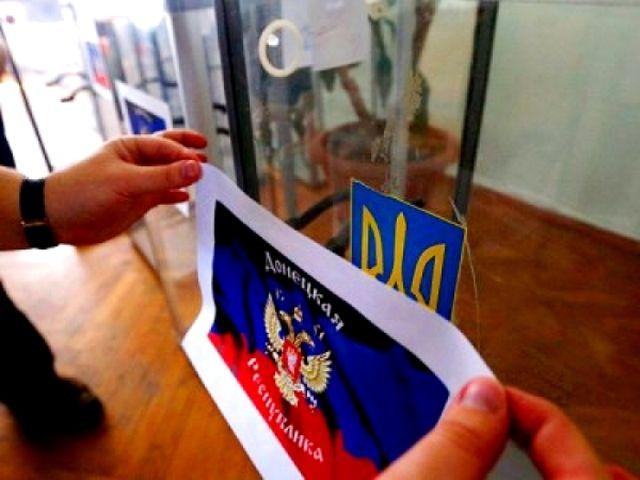 О выборах на Донбассе