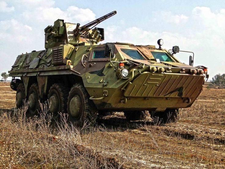 «Дырявая» броня для украинских БТР-4