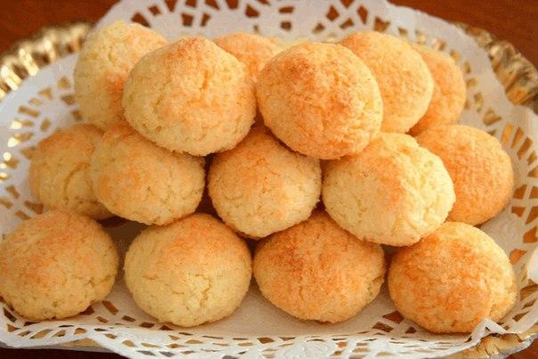 Быстрое кокосовое печенье — простая выпечка!