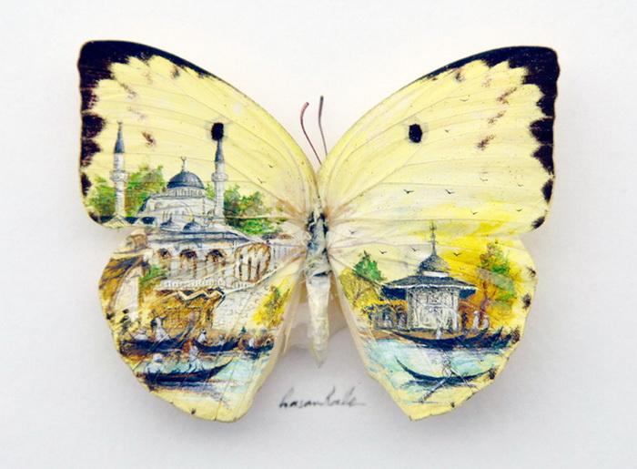 Очень маленькие рисунки Hasan Kale
