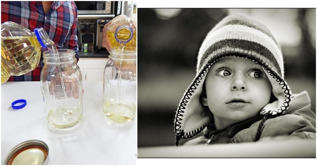 Черно-белое фото + масло: уникальная идея, достойная внимания