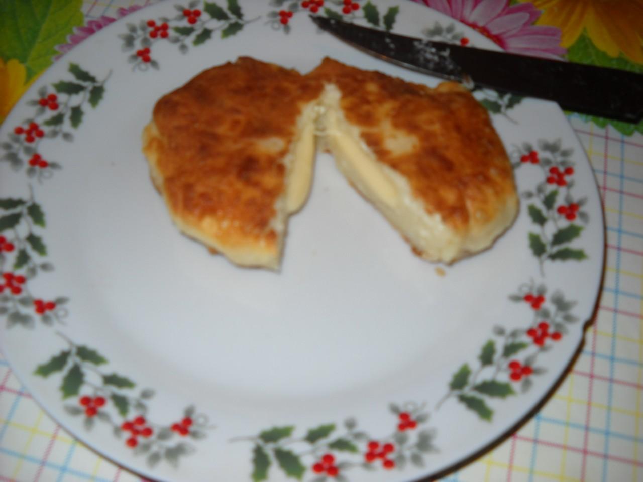 Сырники с сыром:-)