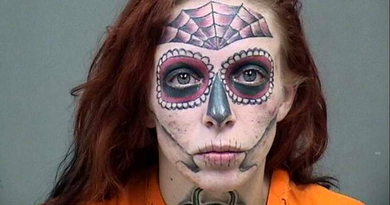 Татуированная рецидивистка из США стала звездой соцсетей