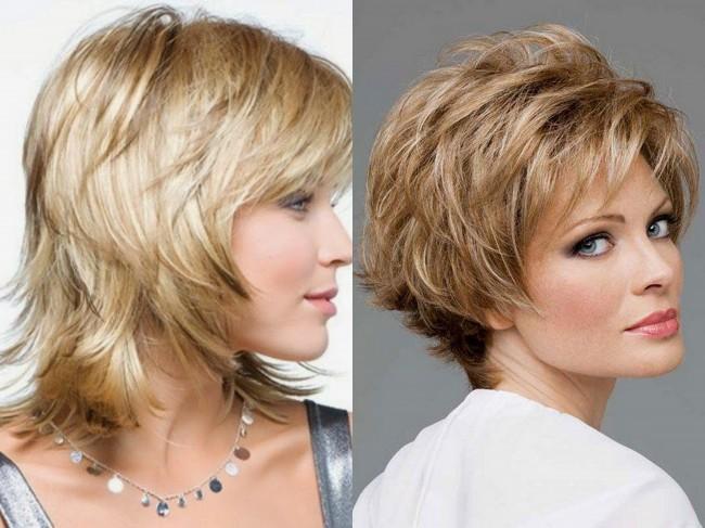 Модные женские короткие стрижки для тонких волос