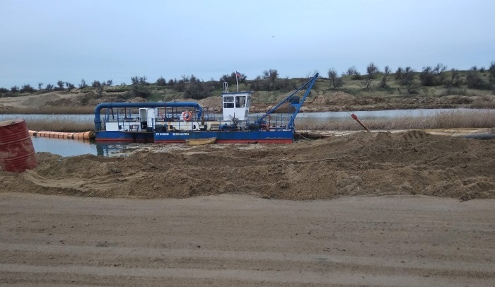 Министерство экологии Крыма: песок, добываемый в Керчи — не токсичен