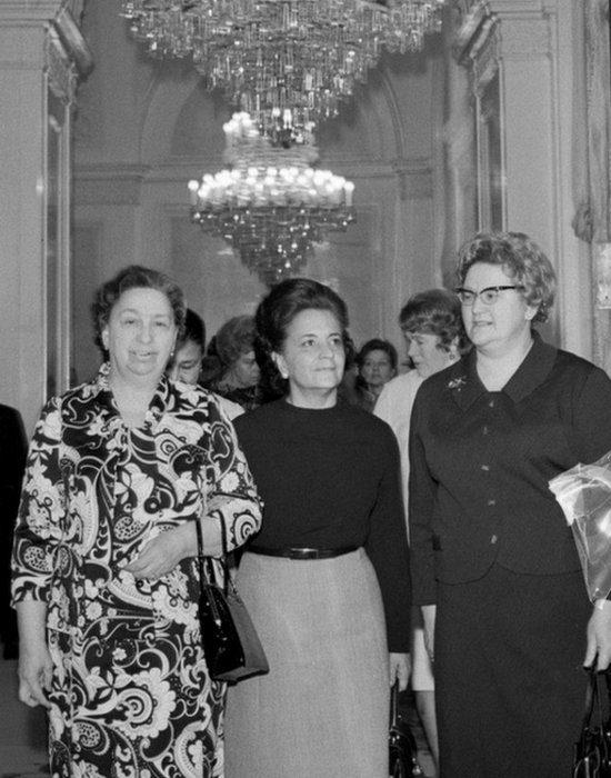 Что носили первые леди российских лидеров