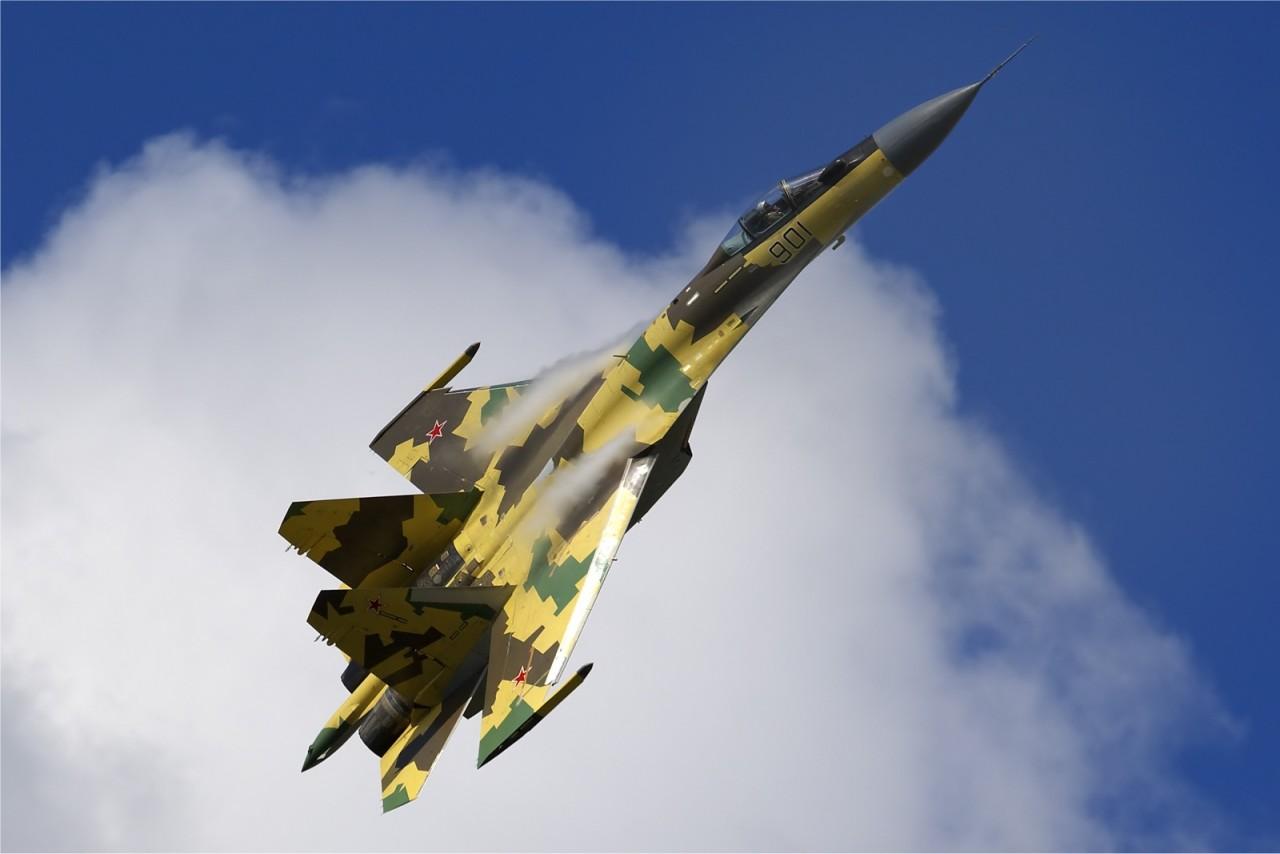 Показательные выступления Су-35С против F-35: «Нет предела совершенству»