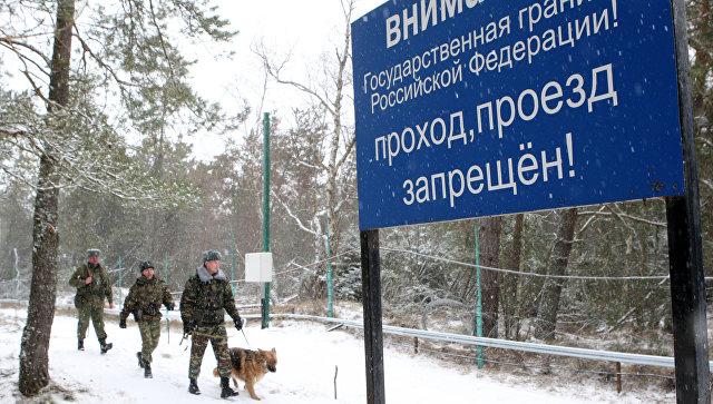 Литва начнет строить забор на границе с Россией