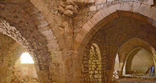 Израильские археологи исследовали госпиталь госпитальеров