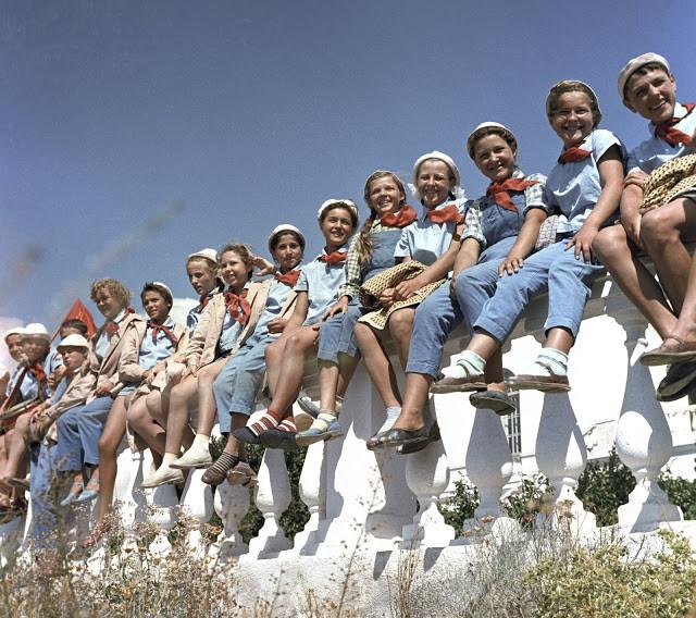 Фотографии Артека 80-х годов — места, куда хотел попасть каждый советский ребенок