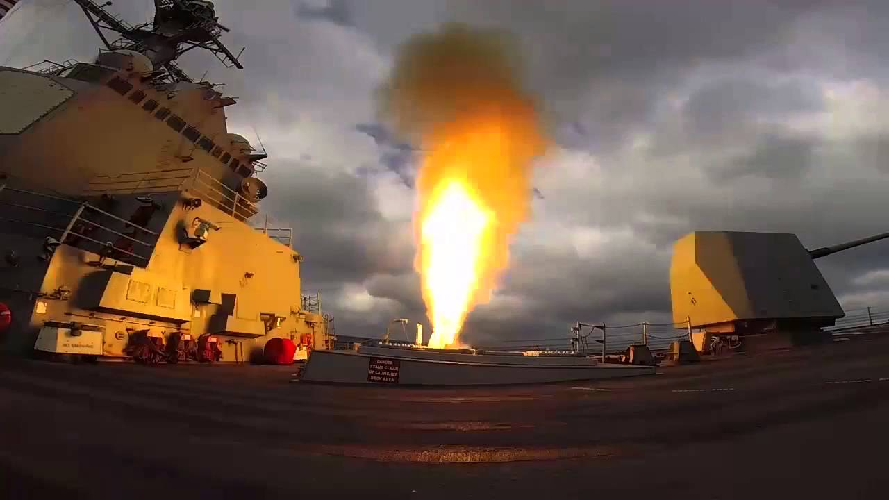 Хуситы сняли на видео попадание ракеты в саудовский фрегат