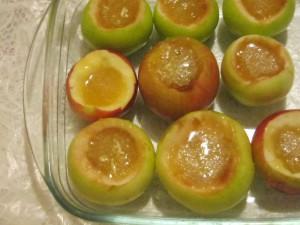 Пошаговый фото рецепт запеченные яблоки в
