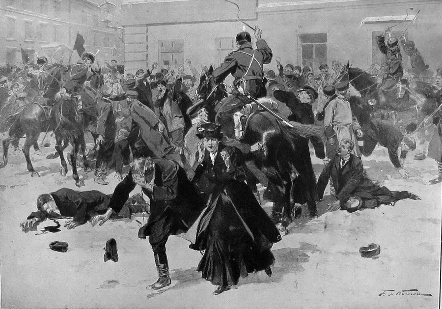 Павел Перец про идиотизм власти в 1905 году