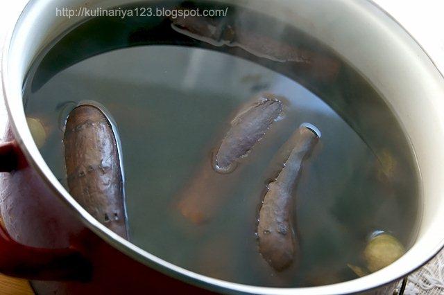 Квашеные баклажаны с капустой