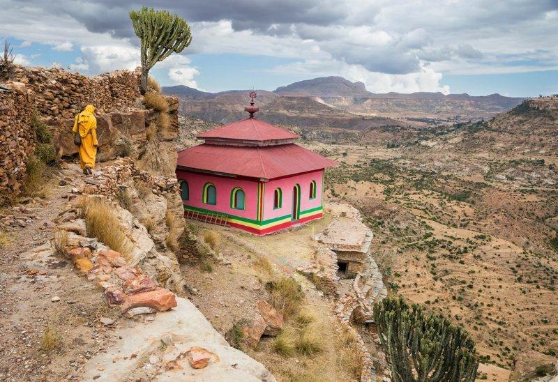 Церковь Дэбрэ-Дамо в мире, жизнь, интересно, удивительно, церковь, эфиопия