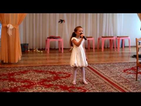 Вот так нужно петь в 5 лет. Выпускной, дет.сад. Минск