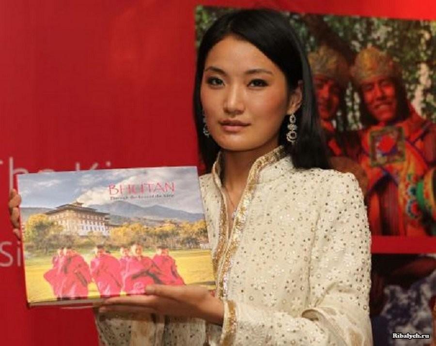 Жизнь прекрасной королевы Бутана