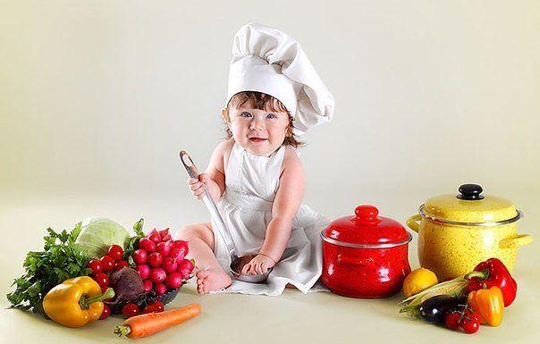 Топ-5 самых полезных для малыша продуктов