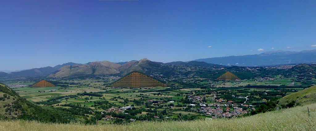 Холмы-пирамиды Италии