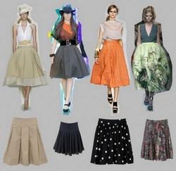 Топы и юбки