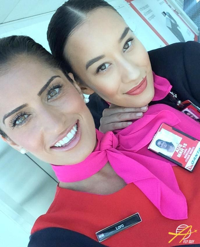 17. Австралия - Qantas люди, пилоты, стюардессы