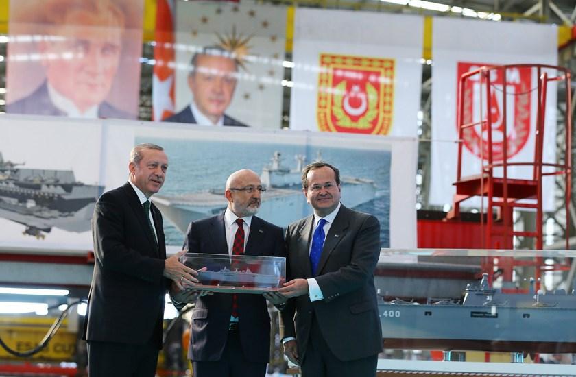 Турция хочет второй универсальный десантный корабль