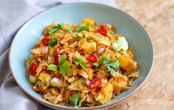 Рецепт солянки с капустой и картошкой