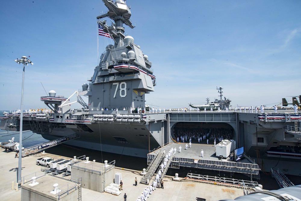 Тихоокеанская группировка ВМС США столкнулась с серьёзными проблемами