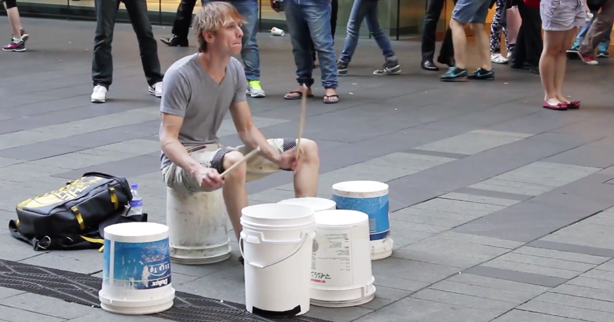 You Don't Need Expensive Drums To Rock
