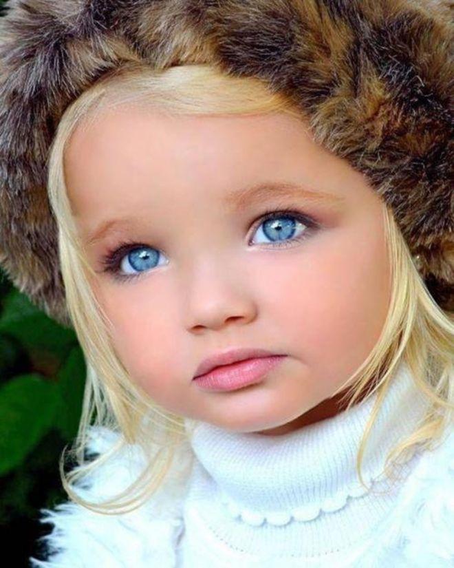 8 самых красивых детей-моделей мира