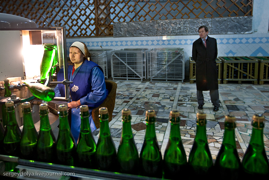 Как делают российское вино Абрау-Дюрсо