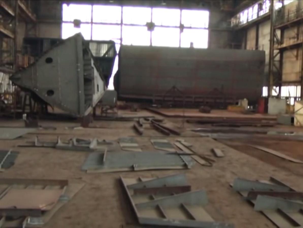 Правительство Украины гальванизирует программу постройки украинских корветов