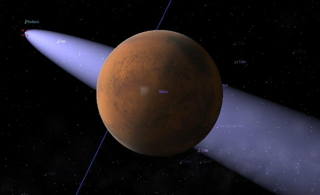 Попадет ли комета C/2013 A1 в Марс?
