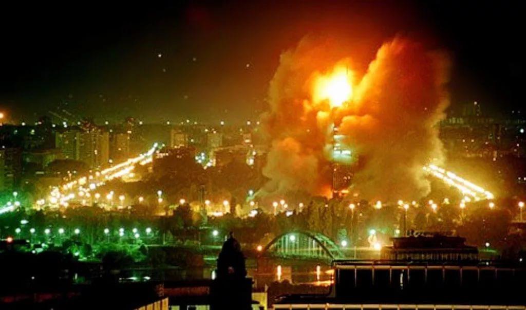 24 марта - День начала агрессии НАТО против Югославии