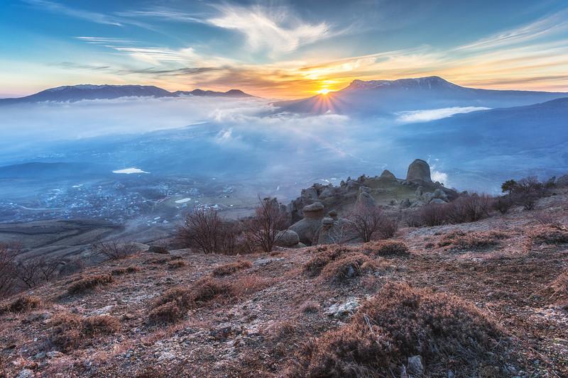 Путешествие по зимнему Крыму