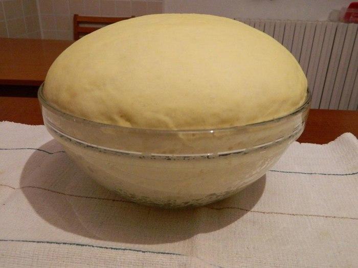 Отличное тесто для пирожков, пирогов и пиццы