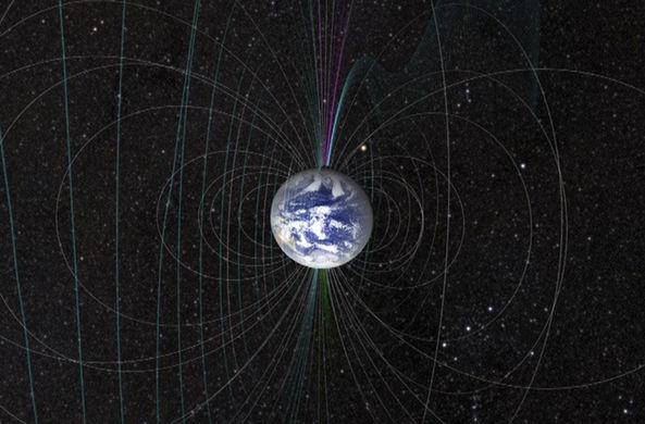 Северный магнитный полюс дрейфует в сторону Сибири