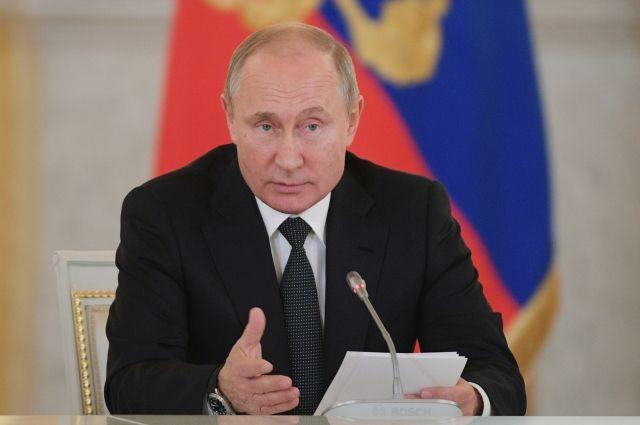 Путин посетит Петербург с рабочим визитом 15 декабря
